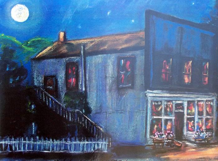 Blue Moon over Old Edna