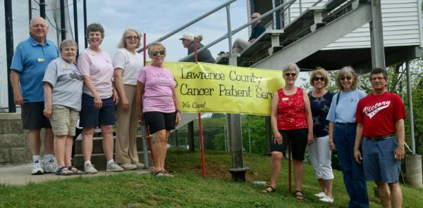 LCCPS Volunteers at Baseball Event in 2019