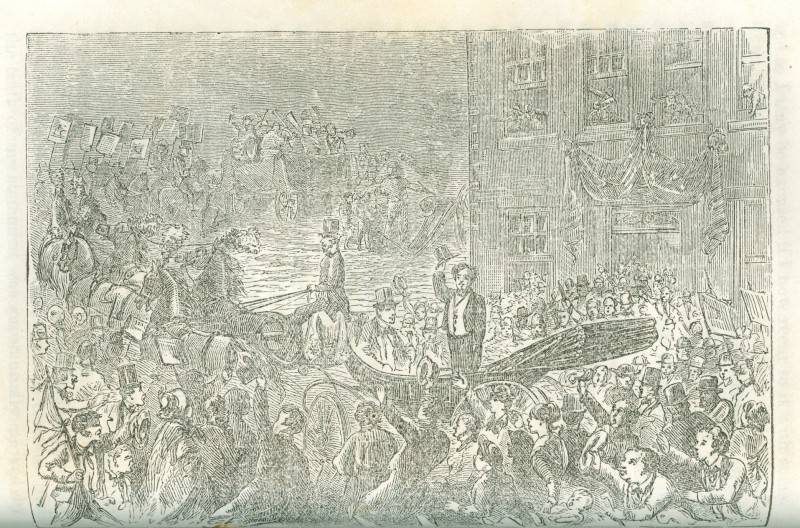 Barnum's Release from Jail