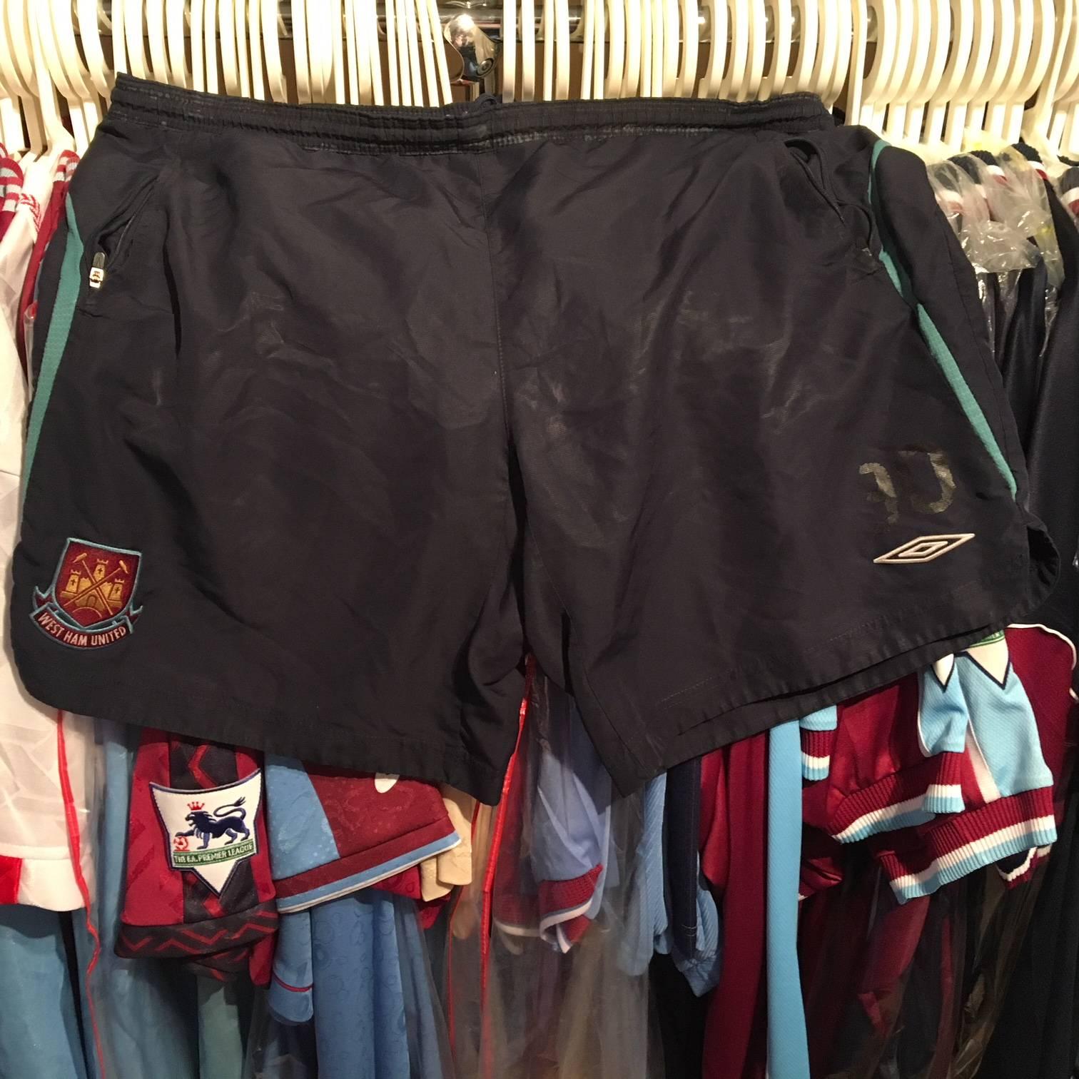 James Tomkins training shorts 2008