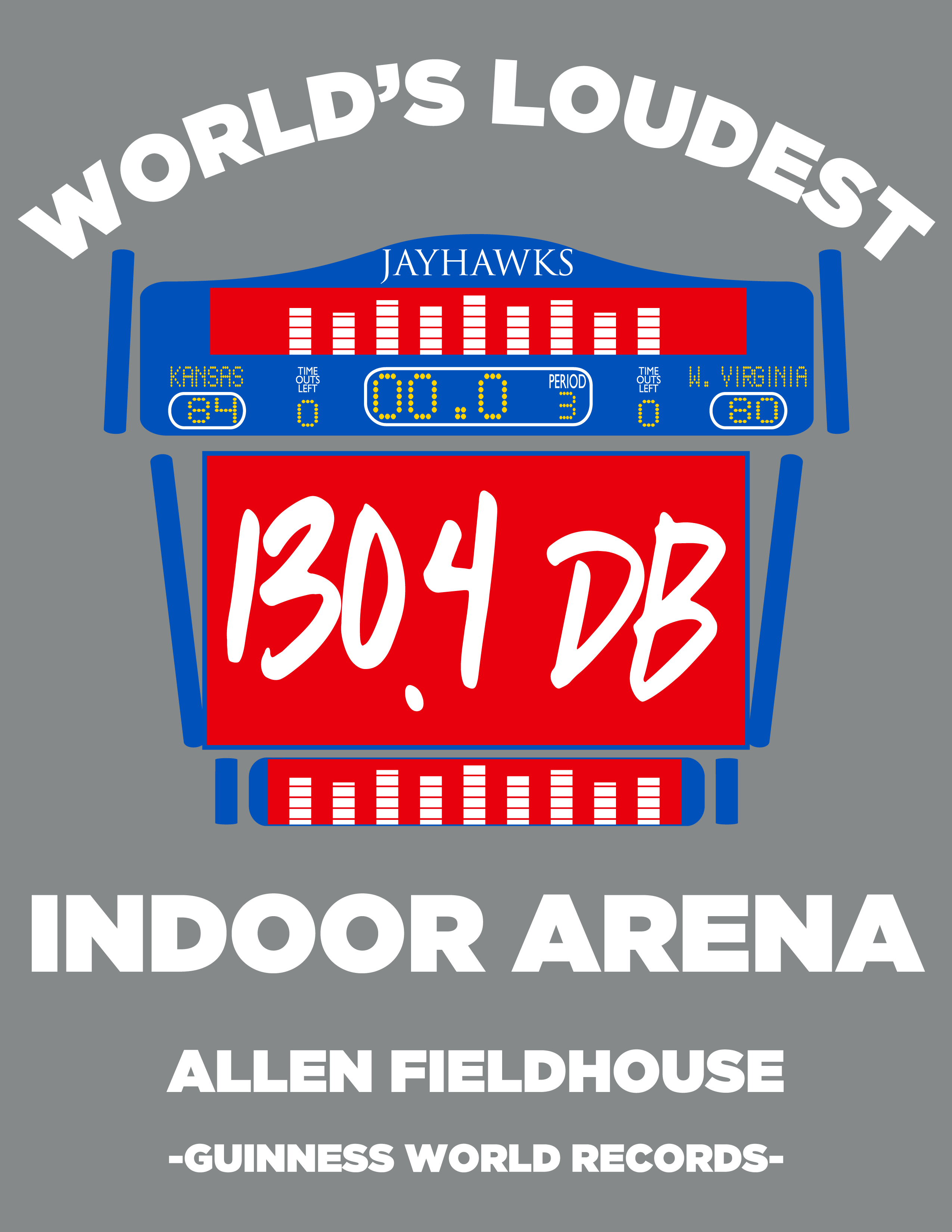 World's Loudest Indoor Arena - '47 T-Shirt Graphic