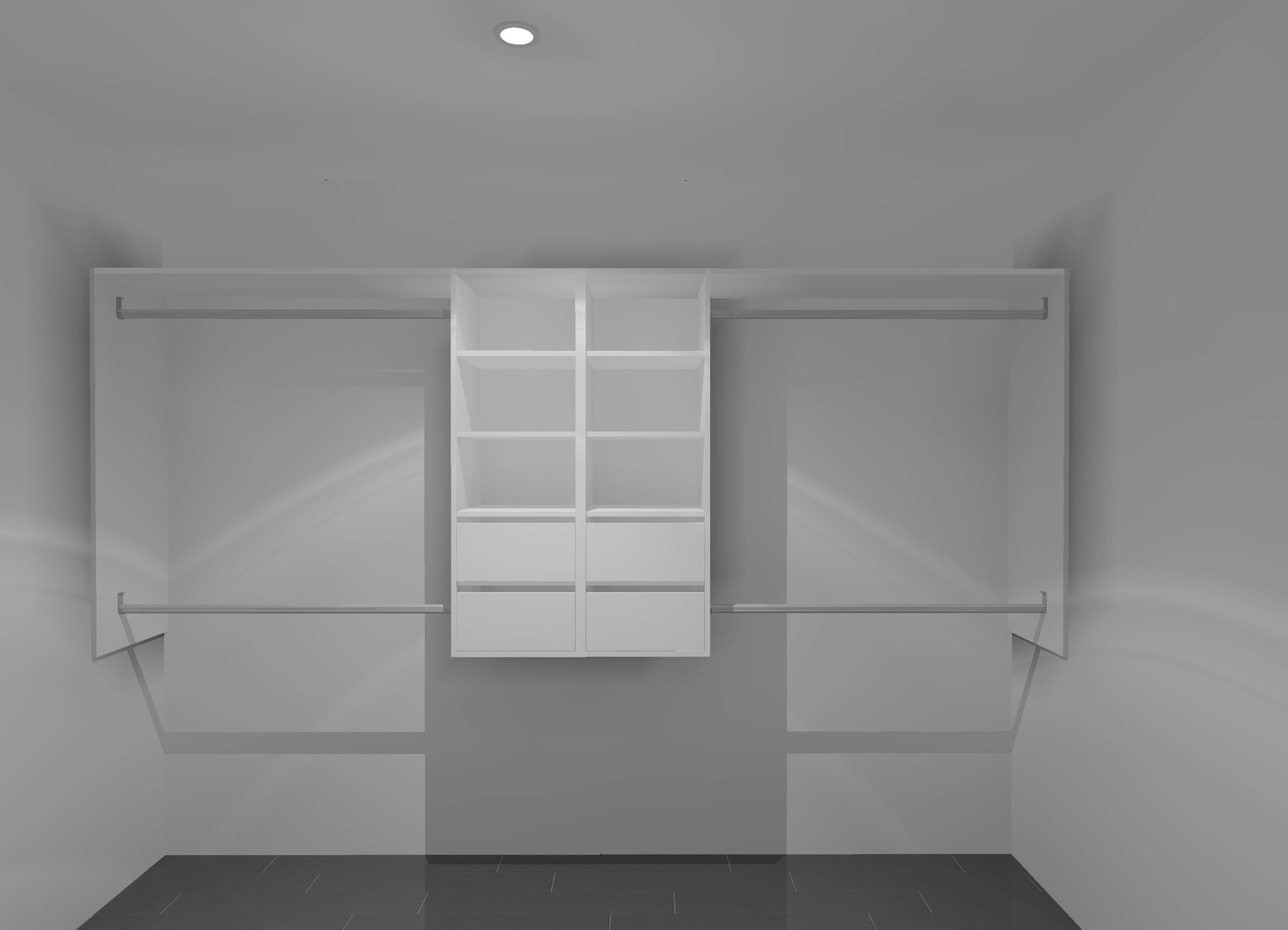3D Image for wardrobe