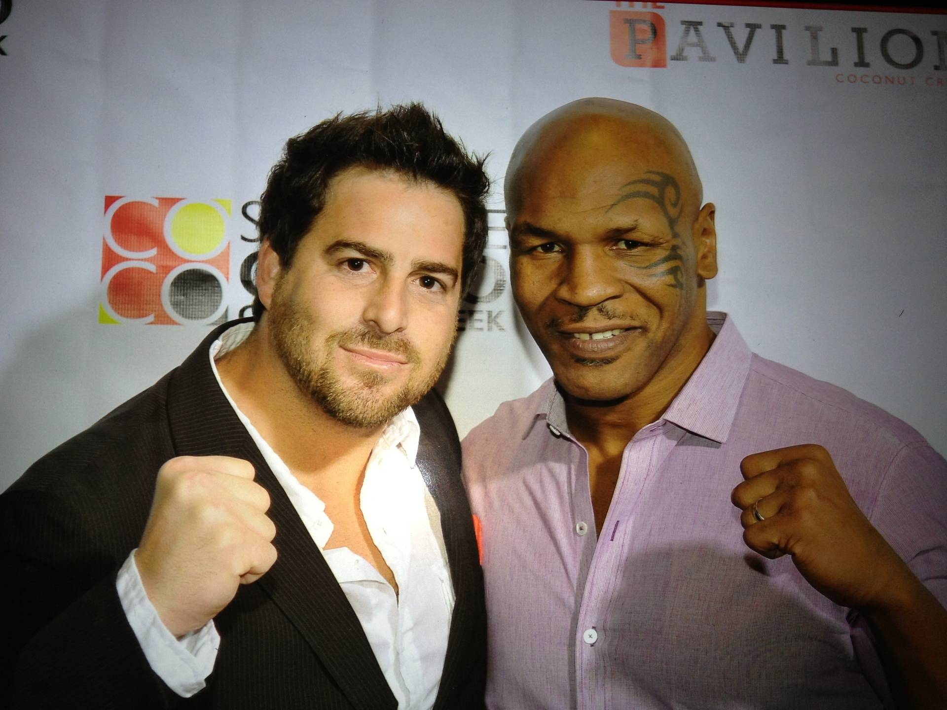 Evan Golden and Mike Tyson