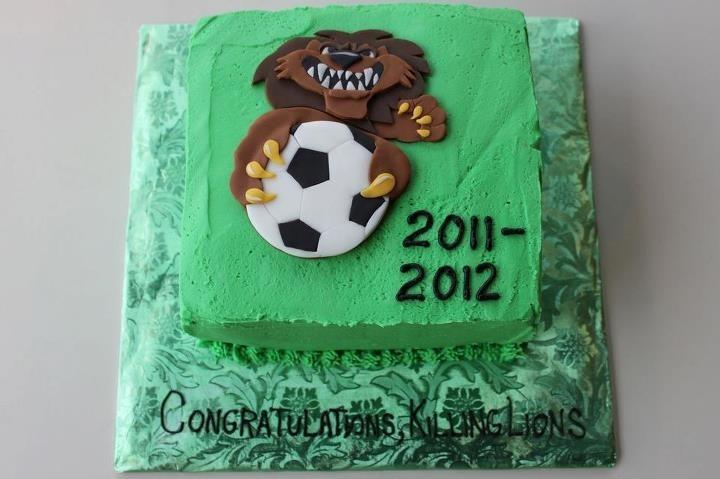 Soccer Tournament cake