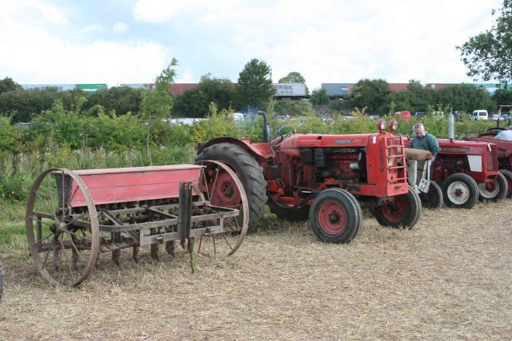 Nuffield & drill in auction