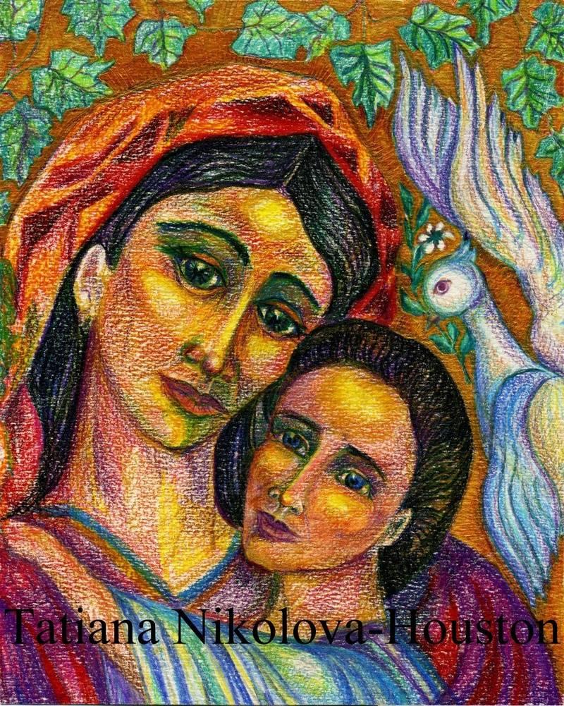 Bulgarian Madonna and Child 2