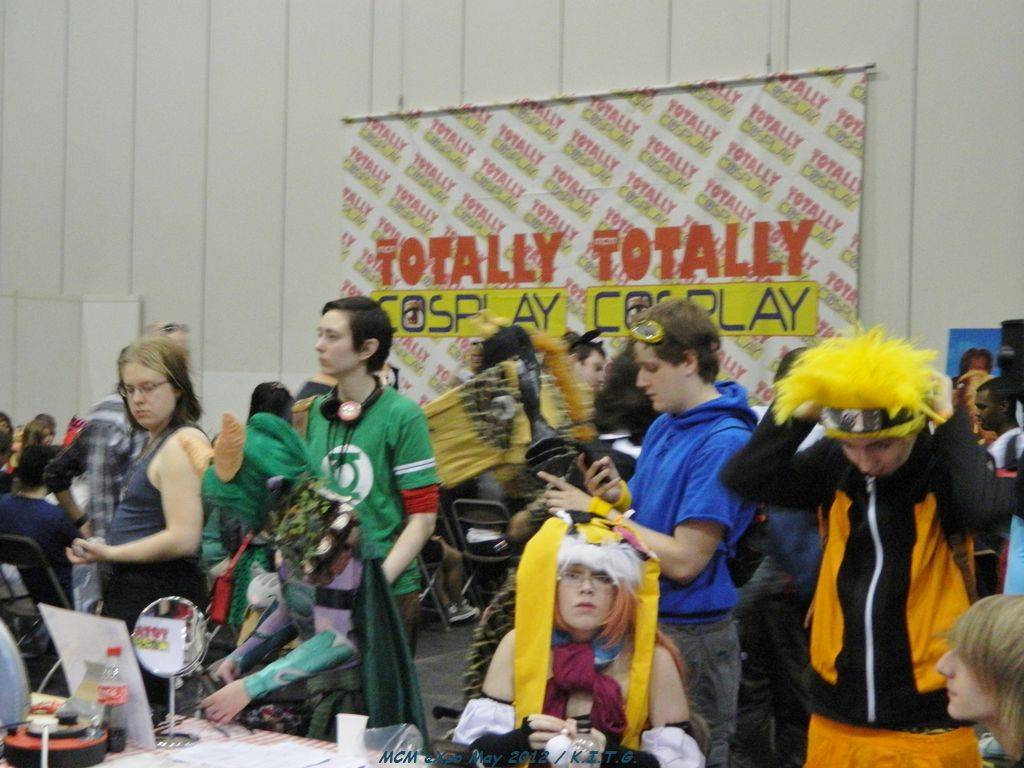 The Cosplay area