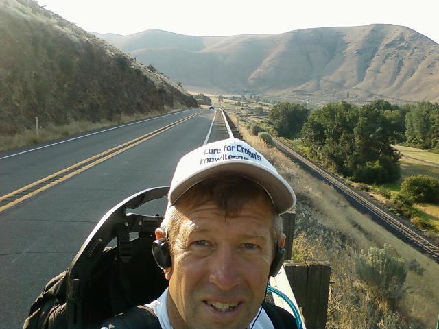 Entering Yakima Canyon day 5