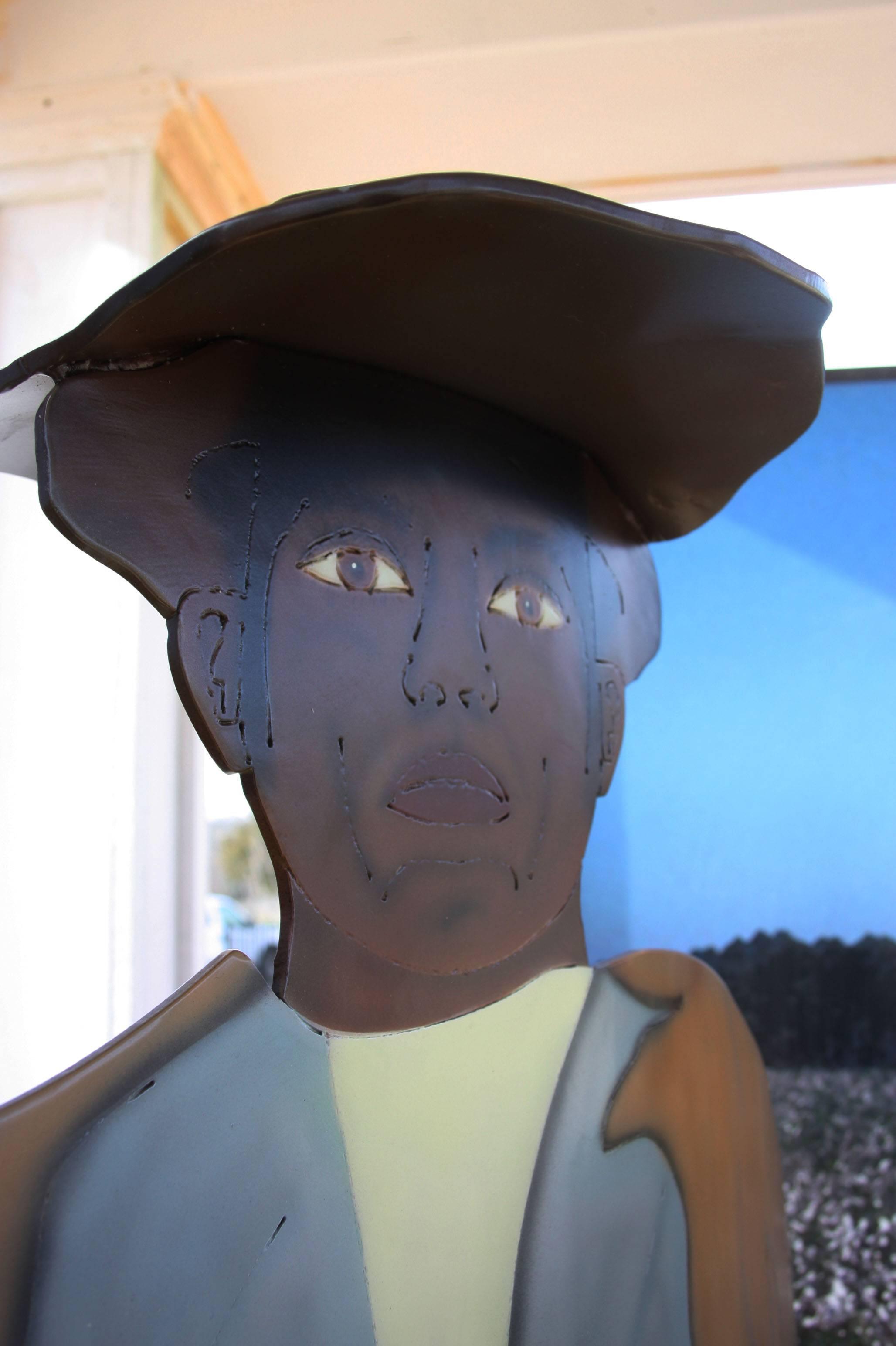 African American man