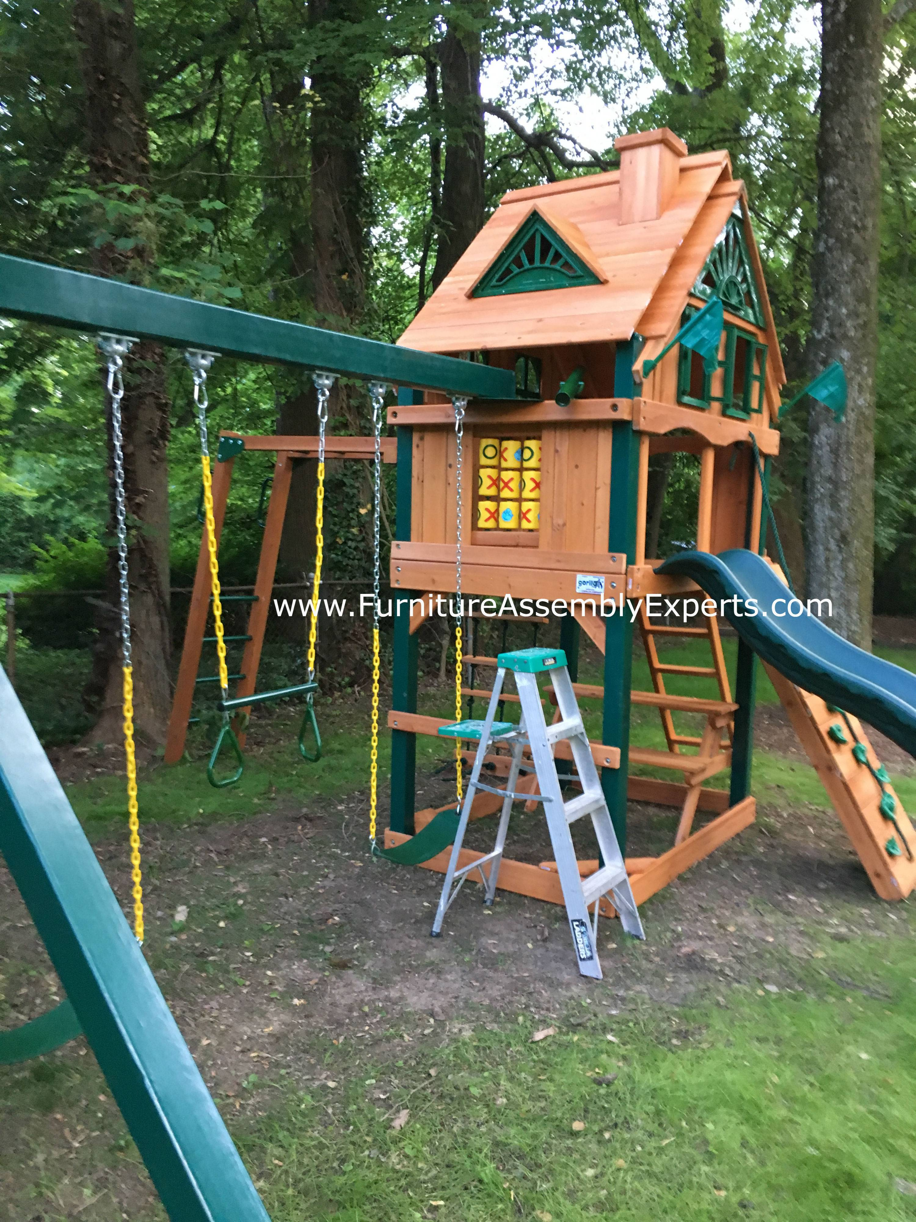 Gorilla navigator tree house assembly in leesburg Va