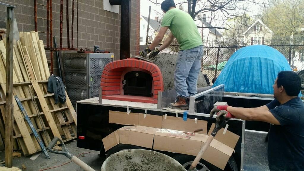 New Oven Progress 2016