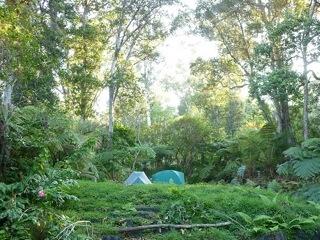 Camping in Kona