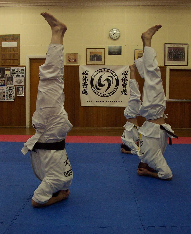 Yoga headstand