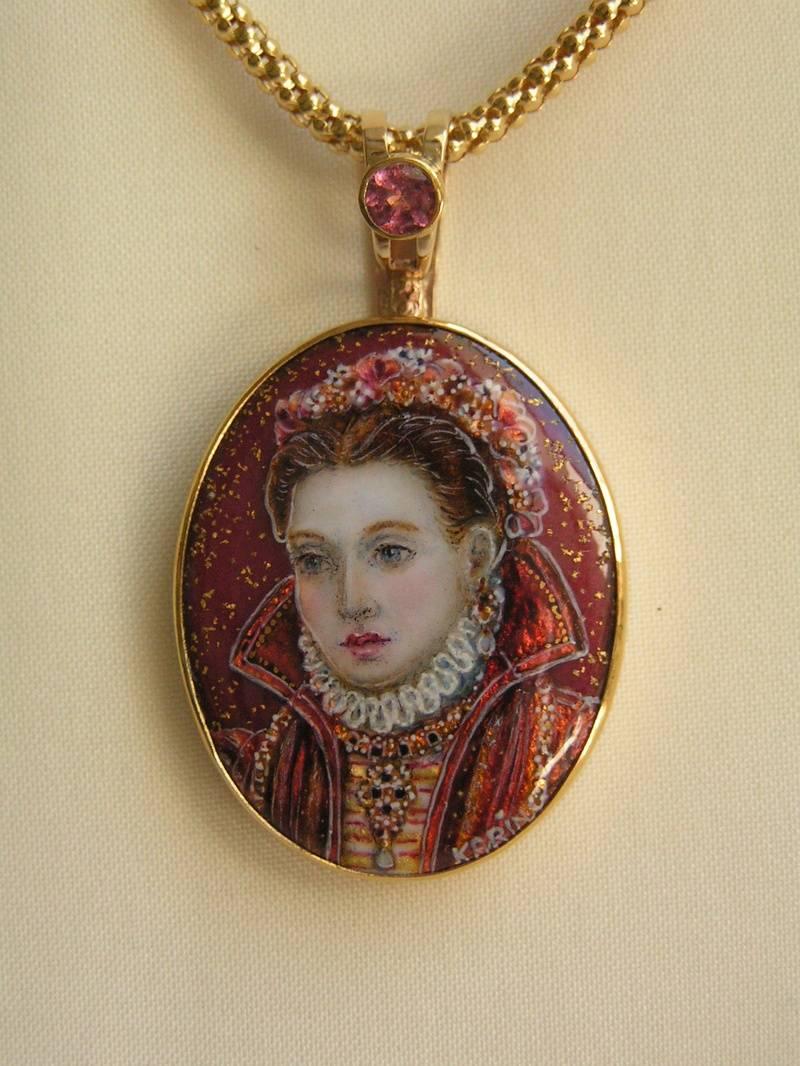 Renaissance Noblewoman - Sold