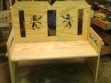 custom 2 person bench