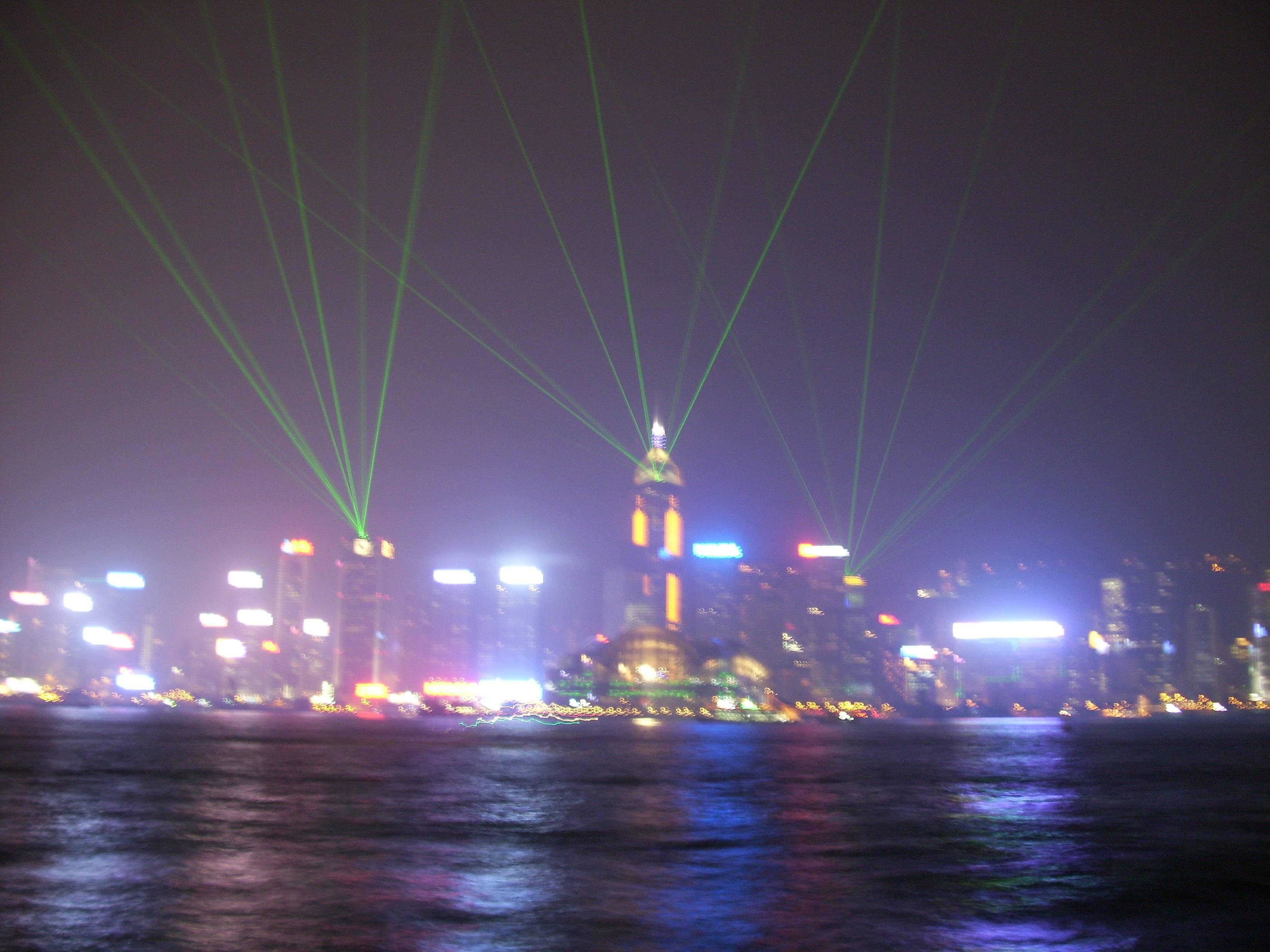 Laser Display Hong Kong