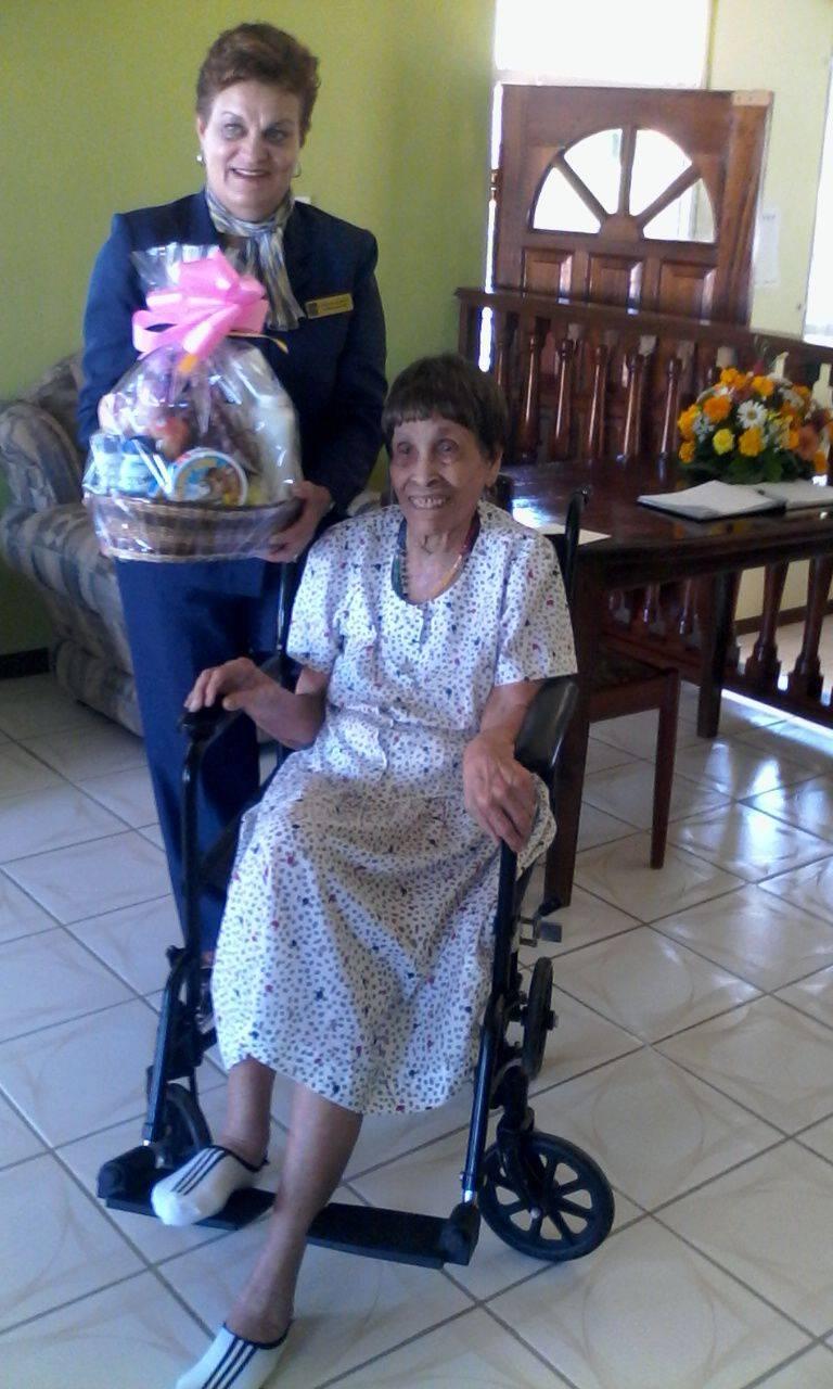 Our Lovely Centenarian
