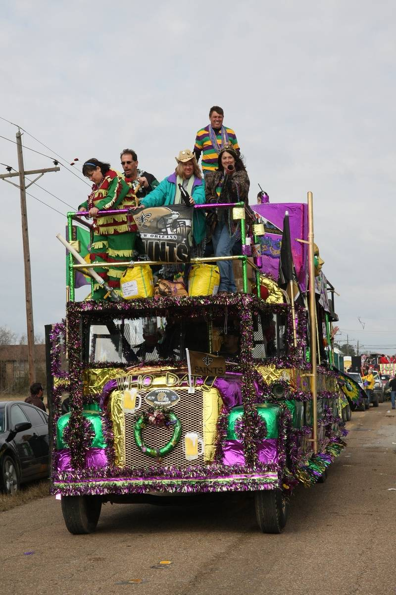 Another float in the Chicken Run Parade