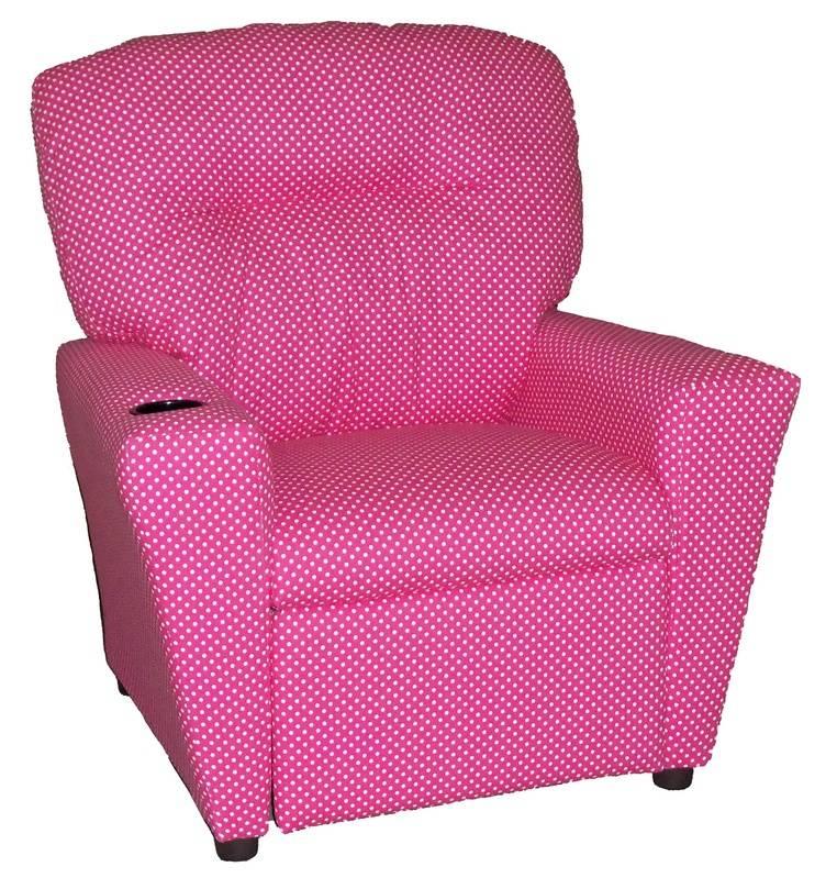 #TW800R Tween Recliner  - Dottie Pink