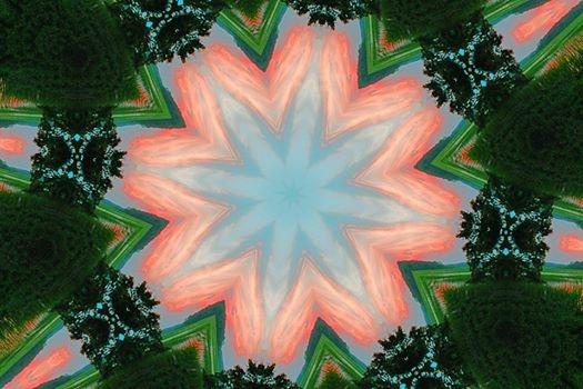 Kaleidoscope Sunset