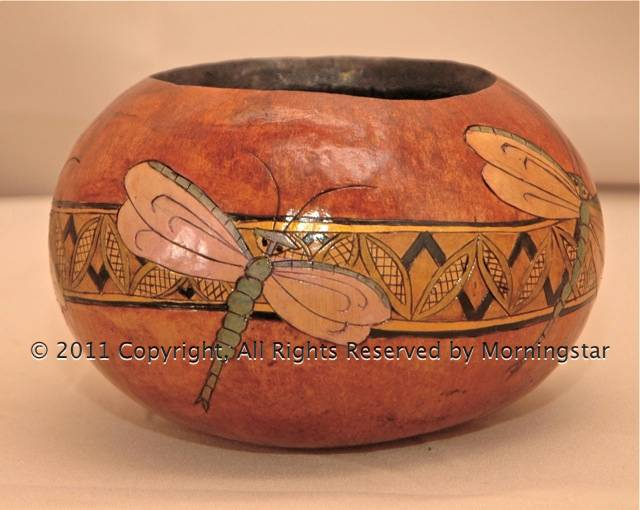 Two Dragonflies Bowl