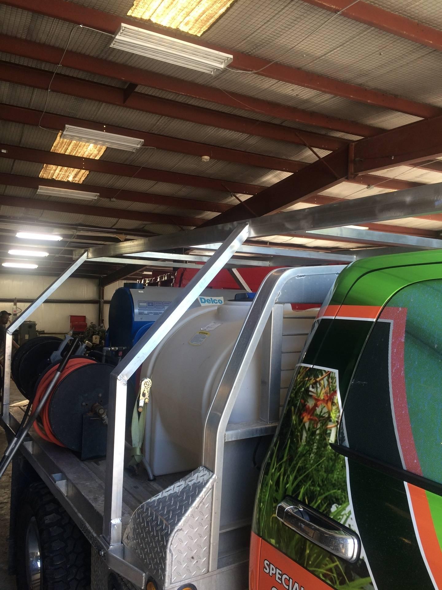 Ladder Rack on Customer's Truck