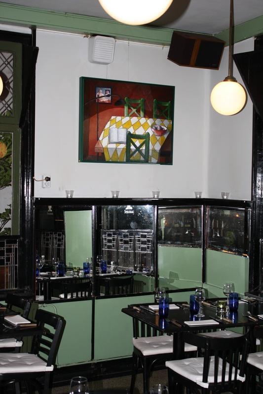 Een aangename duisterheid bij restaurant De Goede Mannen in Haarlem