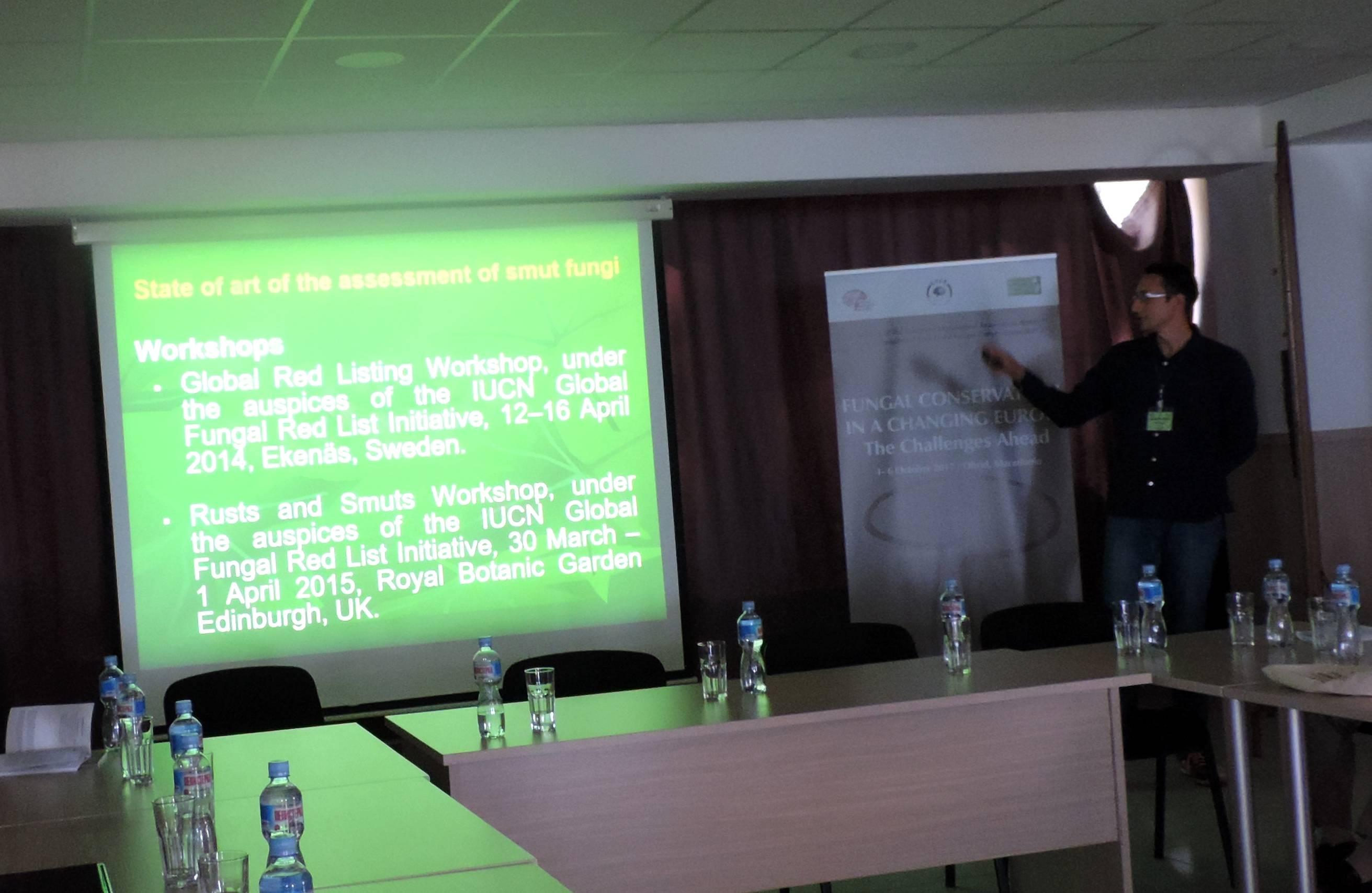 Teodor & Cvetomir Denchev on threat status of smut fungi