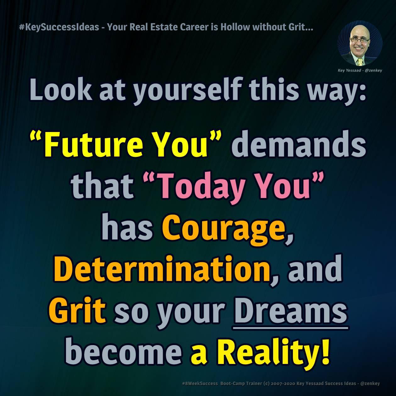 Your Real Estate Career is Hollow without Grit... - #KeySuccessIdeas