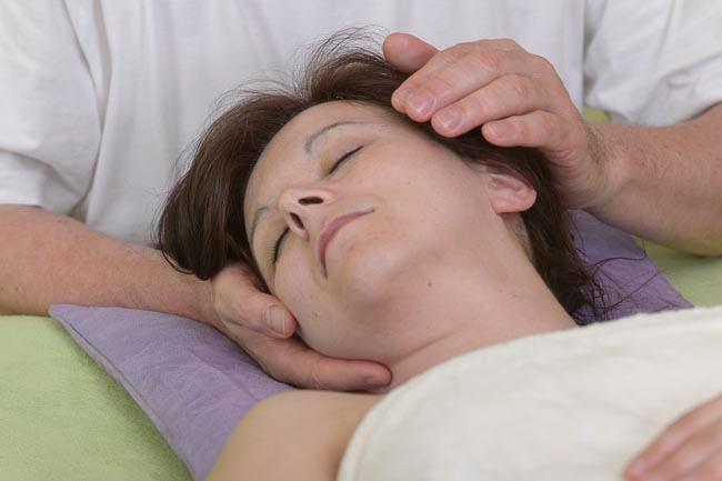 Gesichtmassage