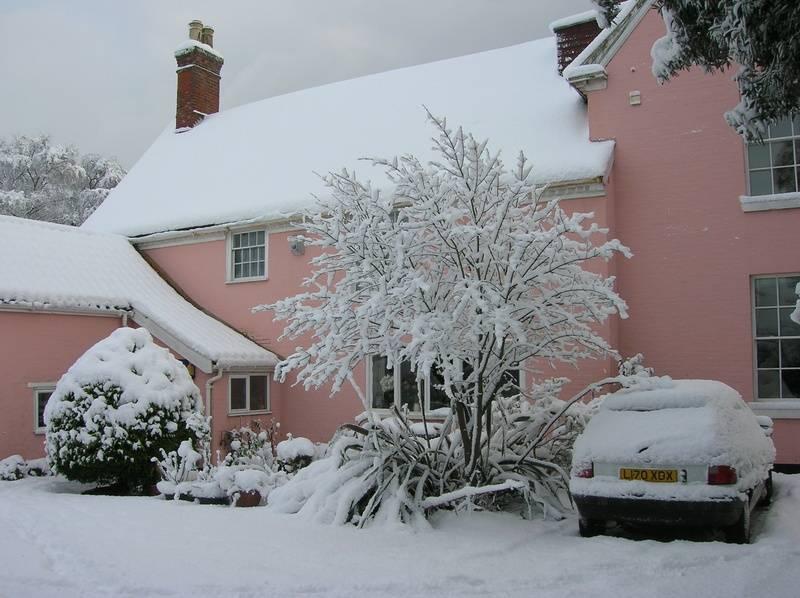 Snow 2010 - car park