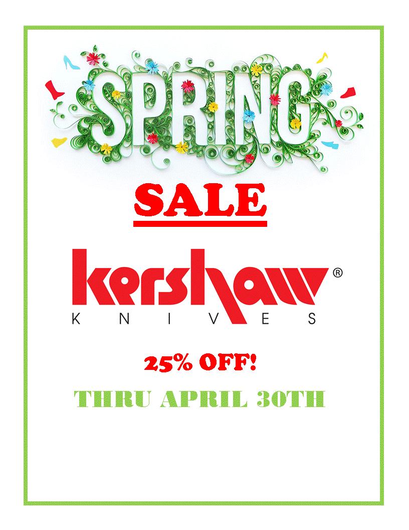 Spring Knife Sale