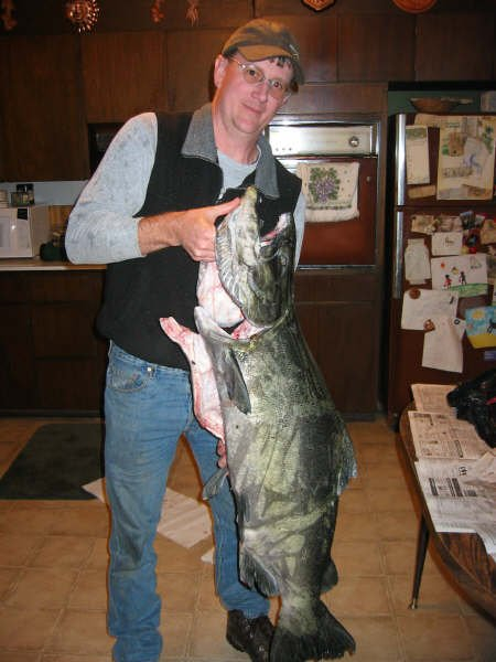 David & the second King Salmon 10-9-04