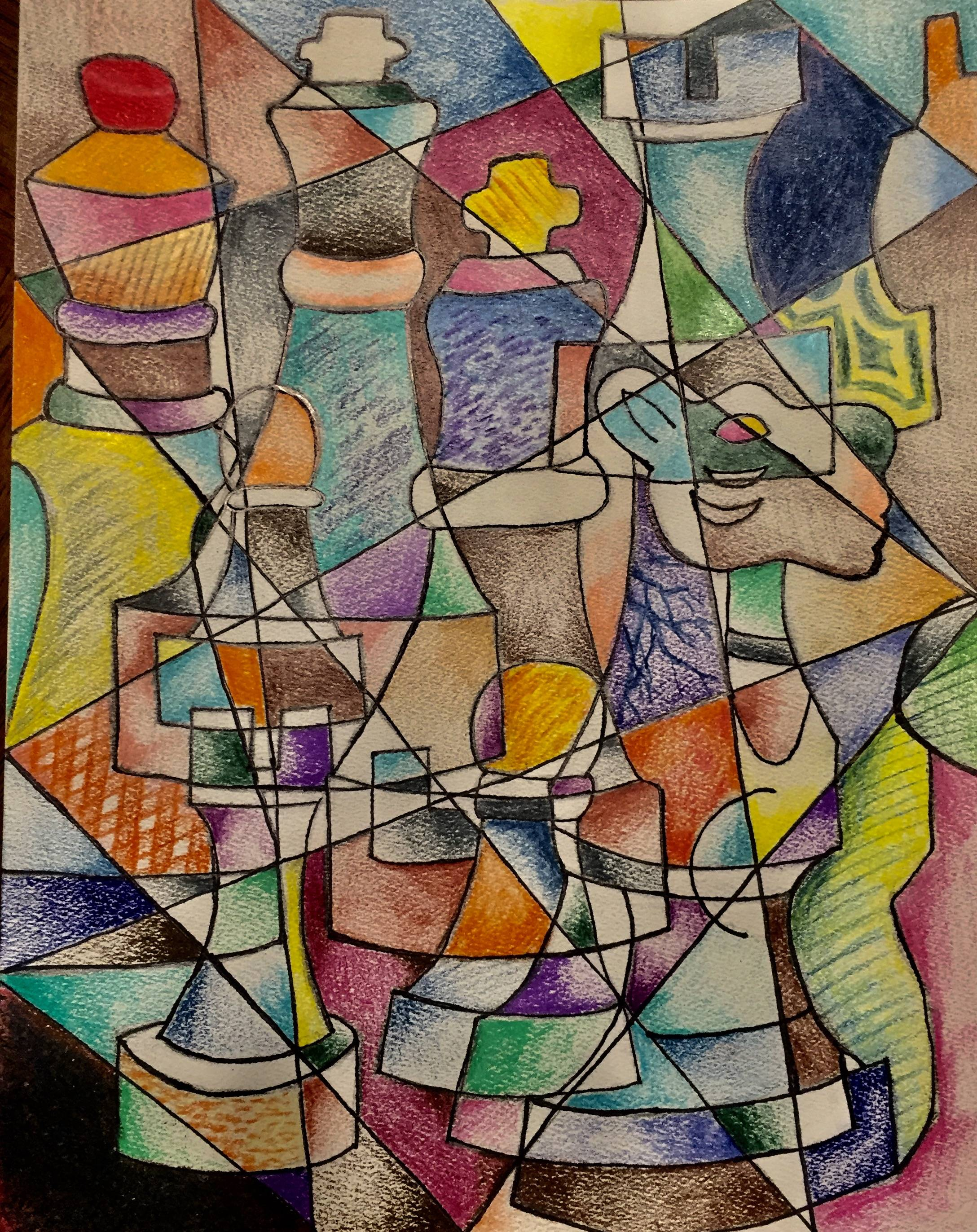 Chess Cubism