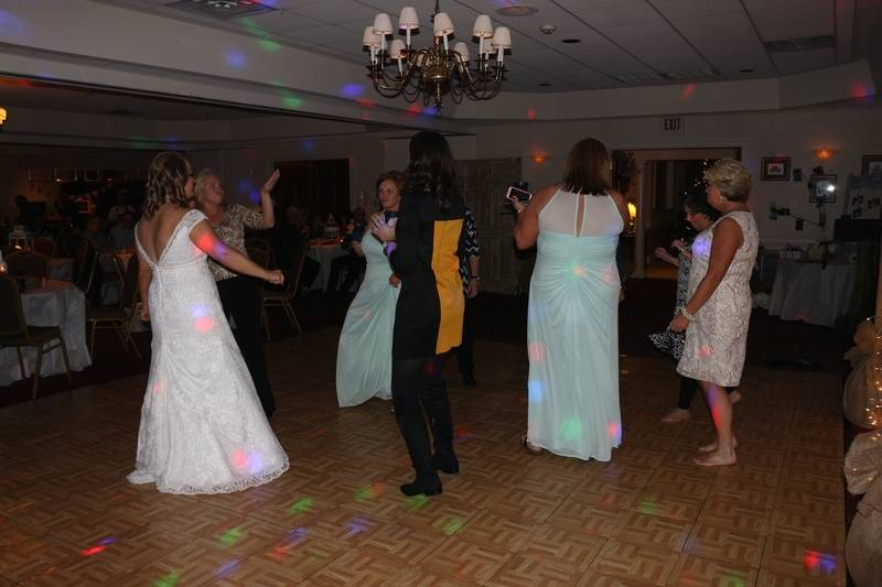 Wedding Reception at Kirkwood National