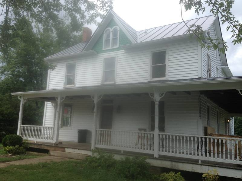New exterior paint in process