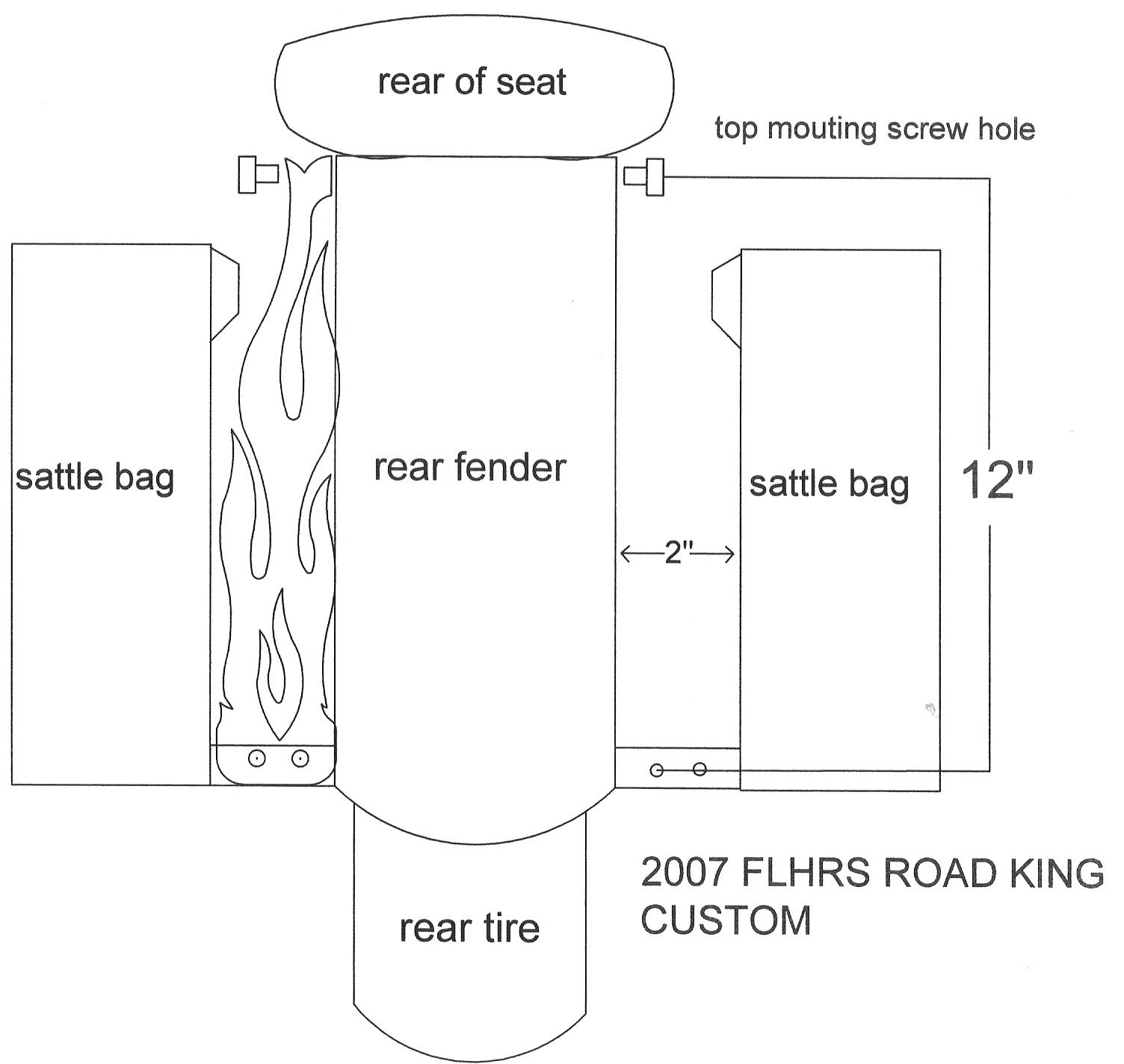 2007 FLHRS ROAD KING CUSTOM