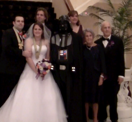 Darth Vader - just like one of the family