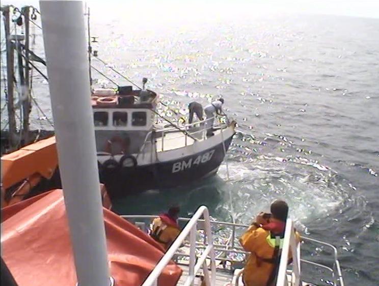 Fishing vessel Lonewolf with engine failure