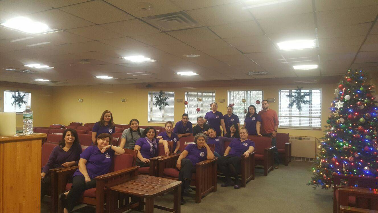 Servidores del retiro de mujeres Dic 2016