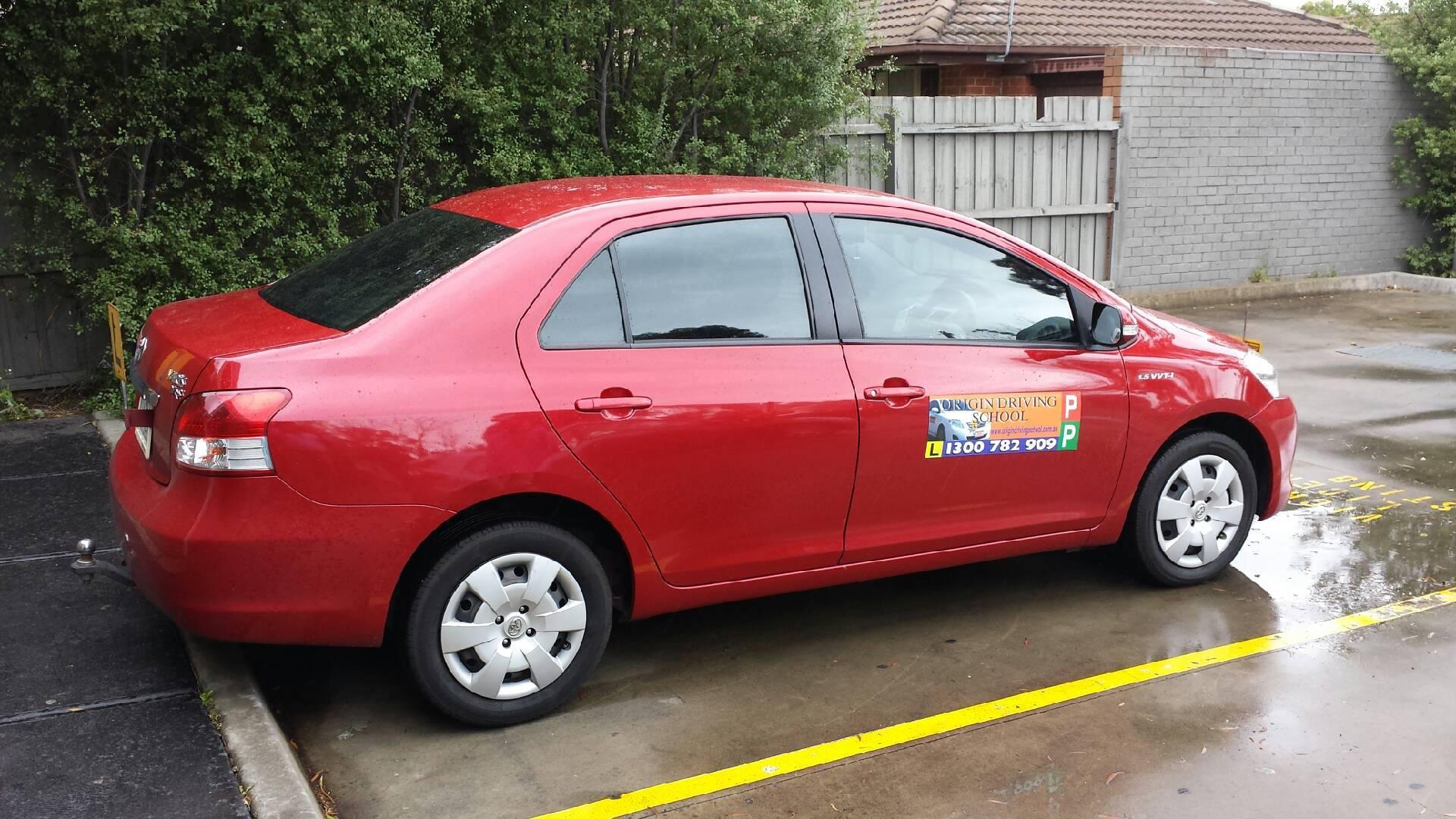 Driving School Hallam - Toyota Yaris  - Automatic Transmission
