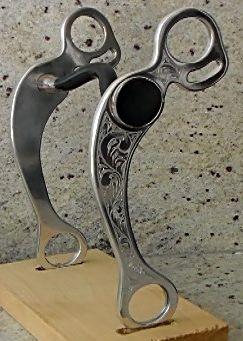 Engraved Aluminium Shank
