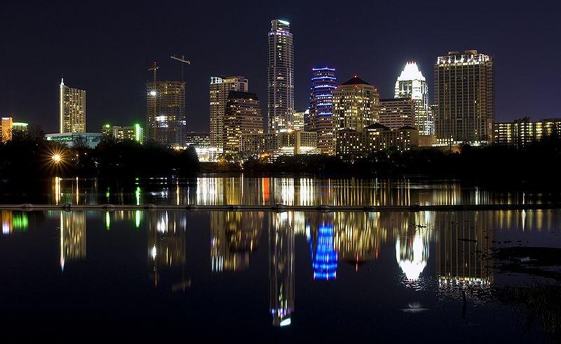 Austin Night Sky Light