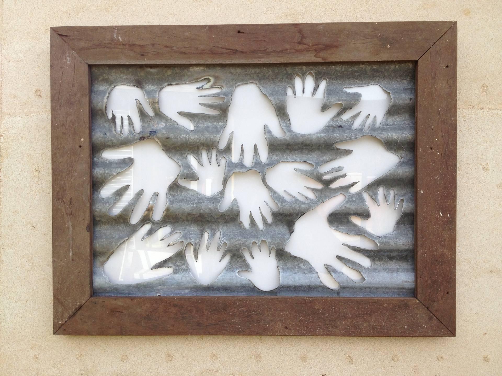 Hand Wall Hanging