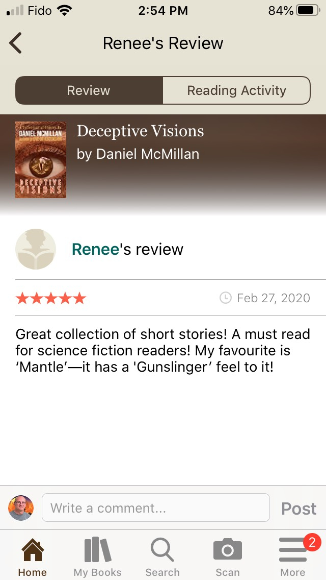 Renee Review of Deceptive Visions