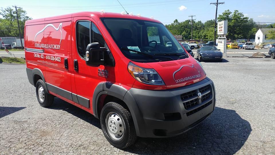 2016 Dodge RAM Pro Master - Light Service Vehicle