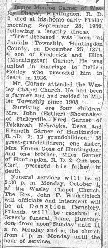 Garner, James M. 1956