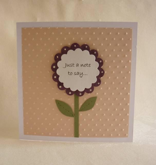 Flower Notelet