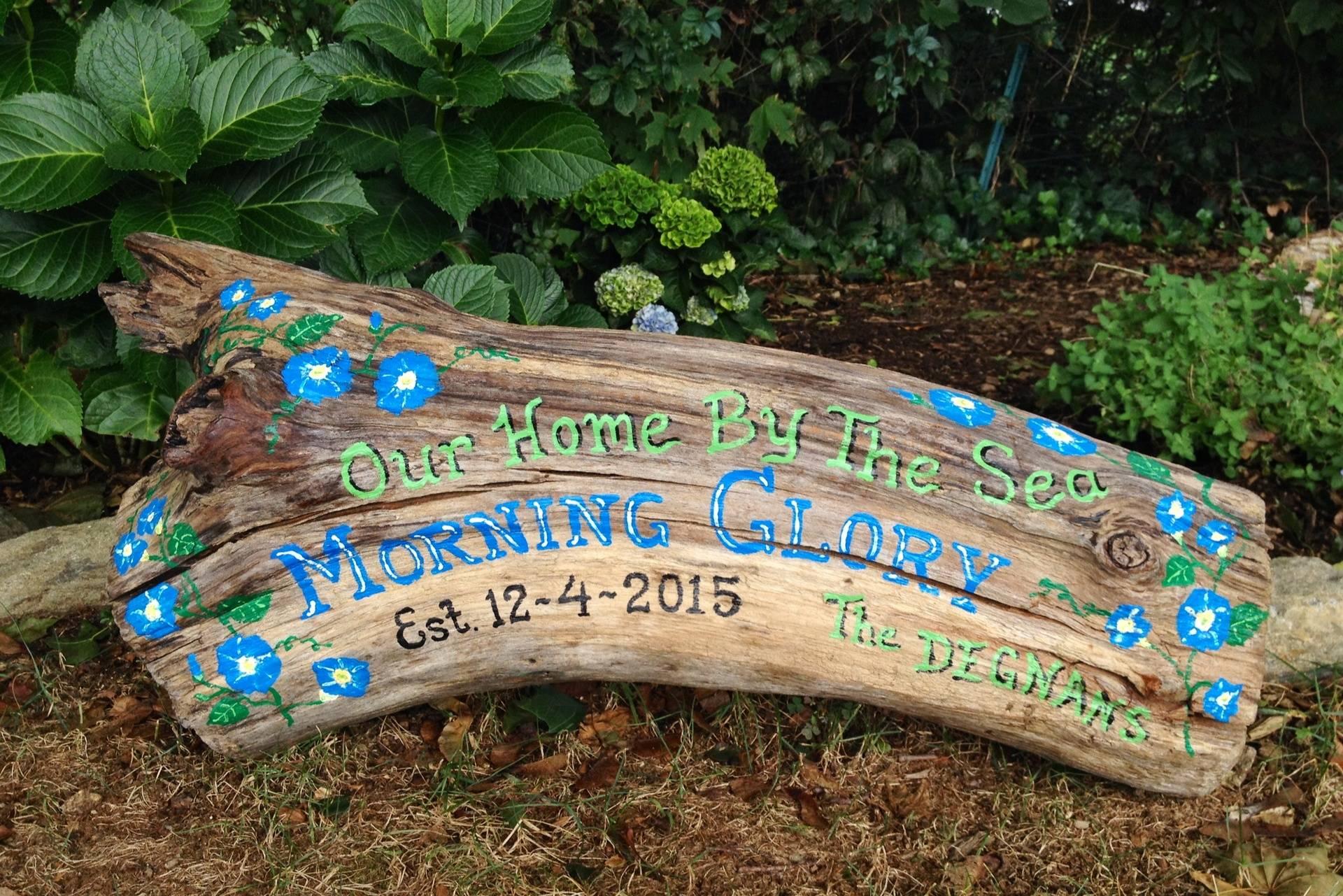 Family Name Garden sign
