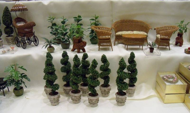 New spiral shape topiaries